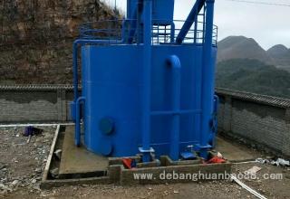 净水设备调试现场