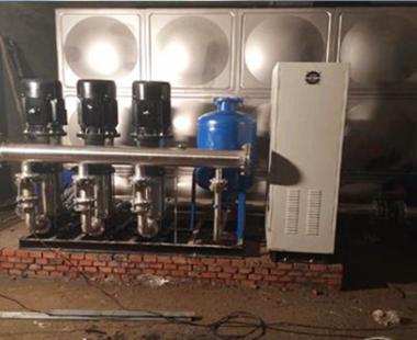 箱泵一体式供水设备--案例1