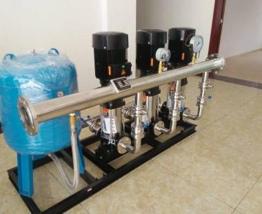 变频恒压供水设备-案例1