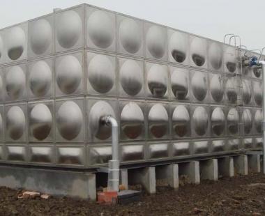 凯里市三棵树镇凯雷房建——188T不锈钢水箱