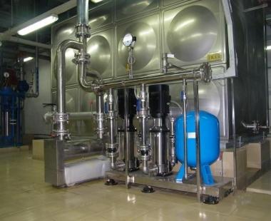 水箱+变频供水设备-案例4