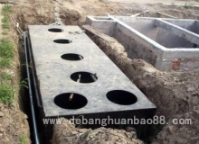 DBHB地埋式污水处理设备有哪些特点呢?